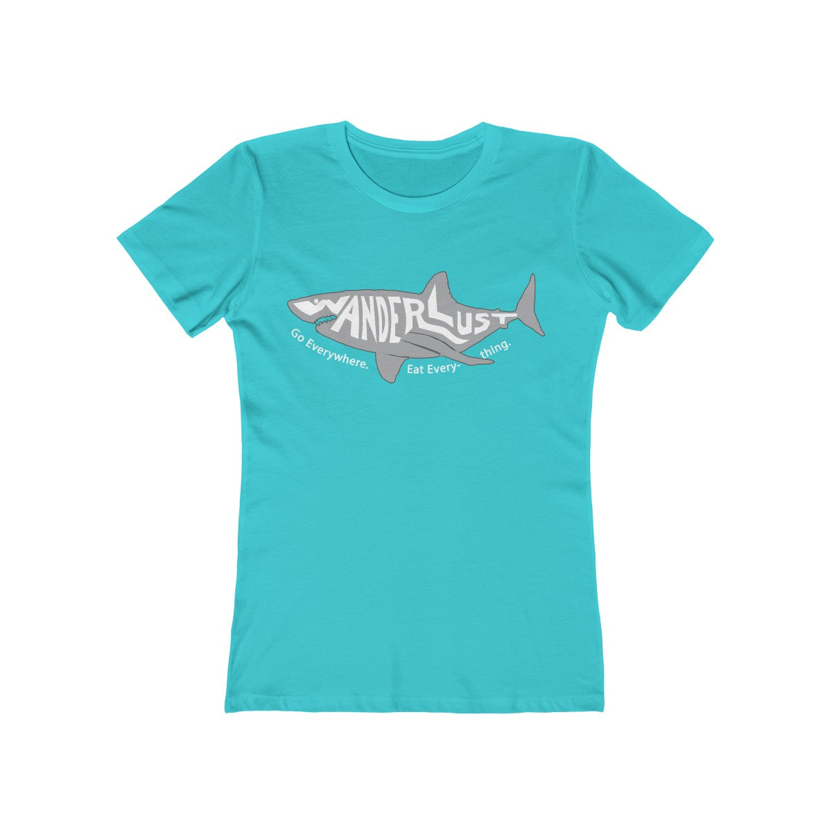 Great White Wanderlust - Women's T-Shirt