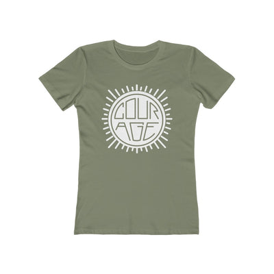 Courage Sun - Women's Premium T-Shirt / Girl Power, Be Brave, Hero, Woman Lead