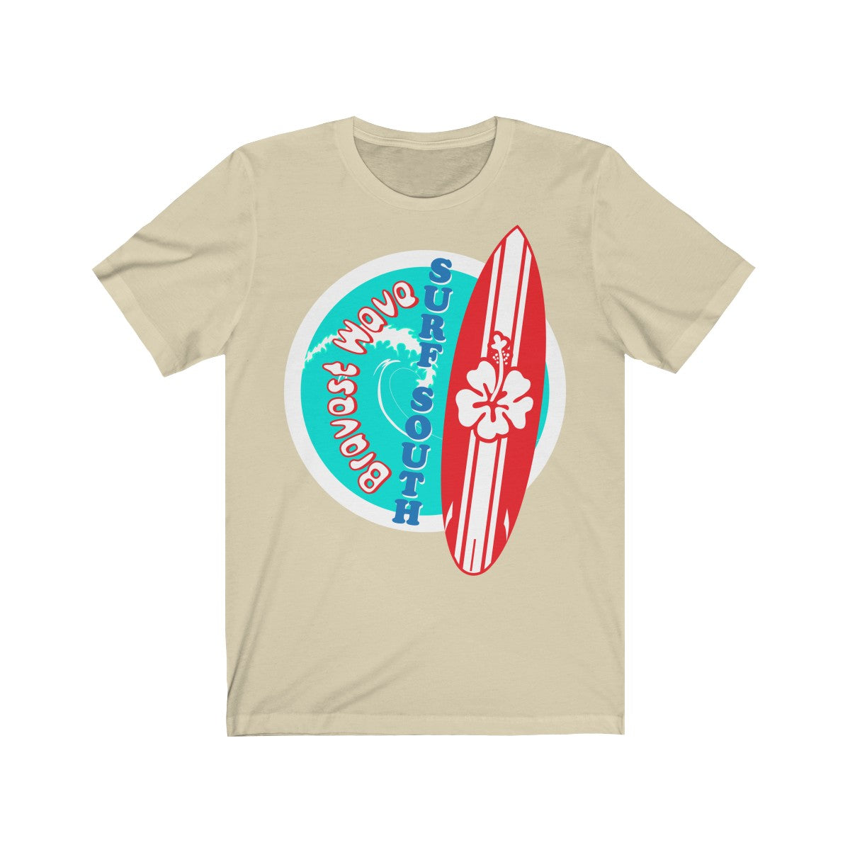 Surf South, Bravest Wave - T-Shirt