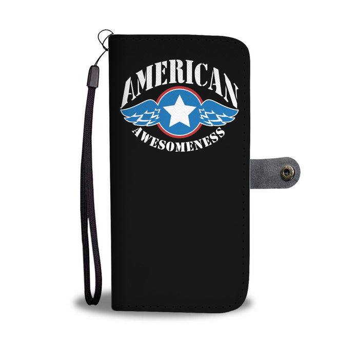 American Awesomeness Phone Wallet Case