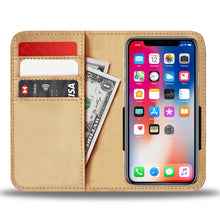 American Awesomeness Leather Look Phone Wallet Case