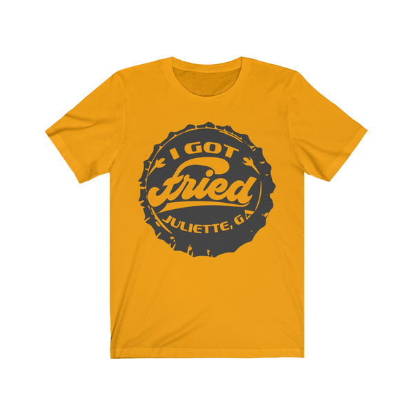 I Got Fried Bottle Cap - T-Shirt