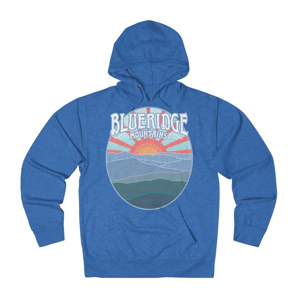Blueridge Mountains - French Terry Hoodie / Appalachian Trail View