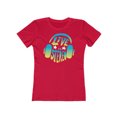Live In Stereo - Women's T-Shirt