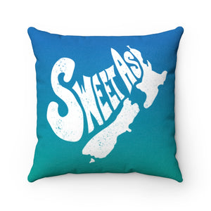 Sweet As - Soft Fleece Pillow / New Zealand Gift, Kiwi, Maori, Slang