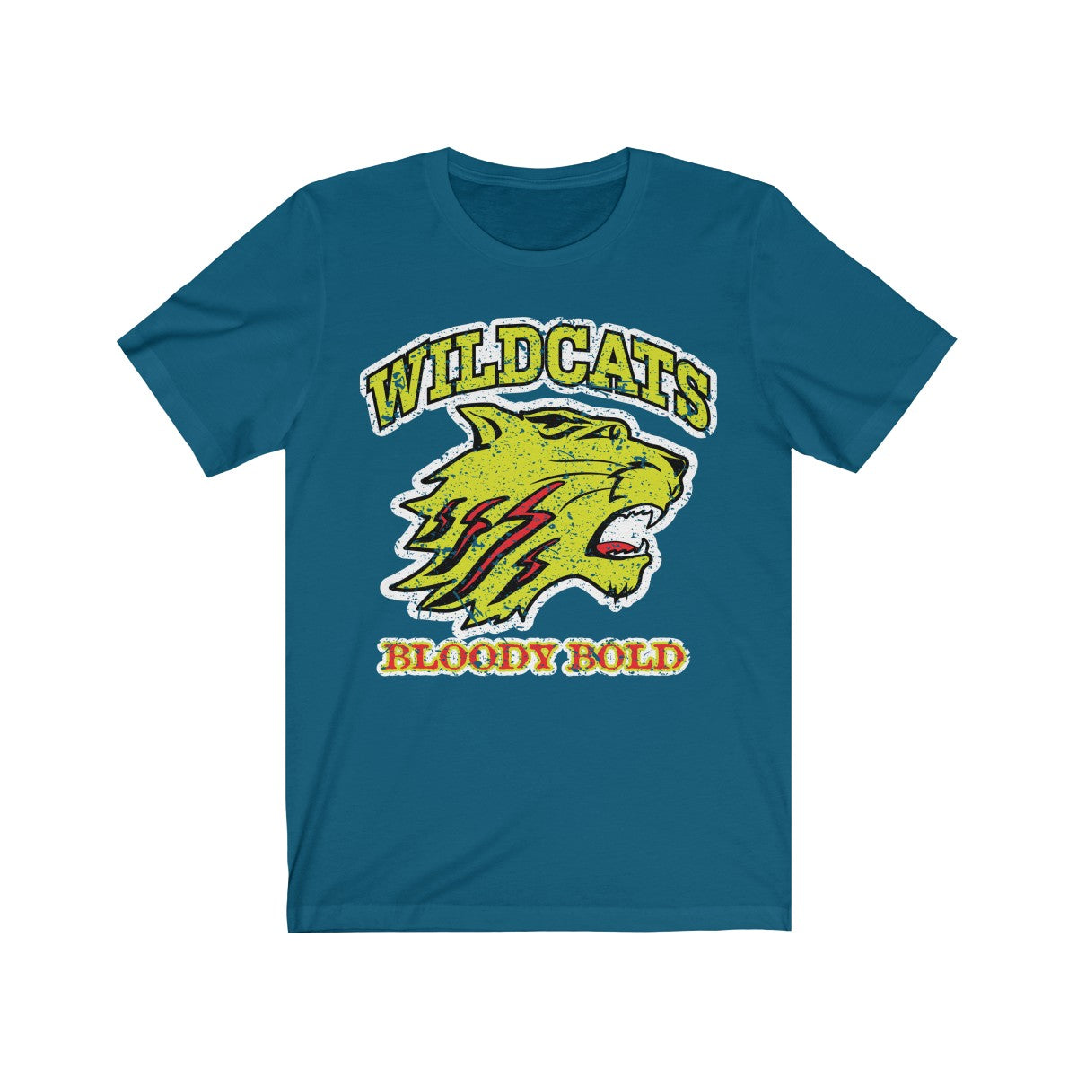 Dunwoody Wildcats, Bloody Bold - T-Shirt