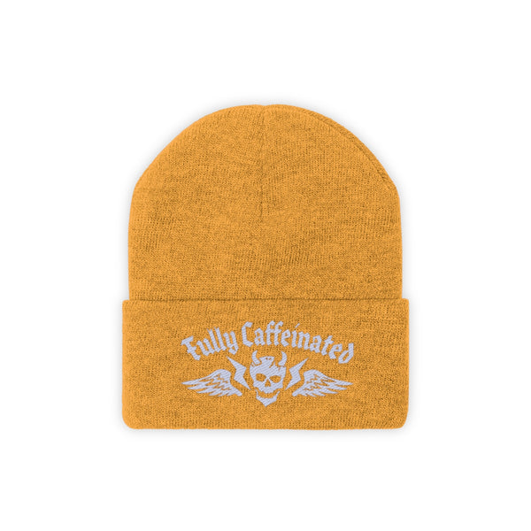 Fully Caffeinated - Knit Beanie