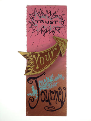 Trust Your Journey - Grow Grand Imagination (piece #00008)