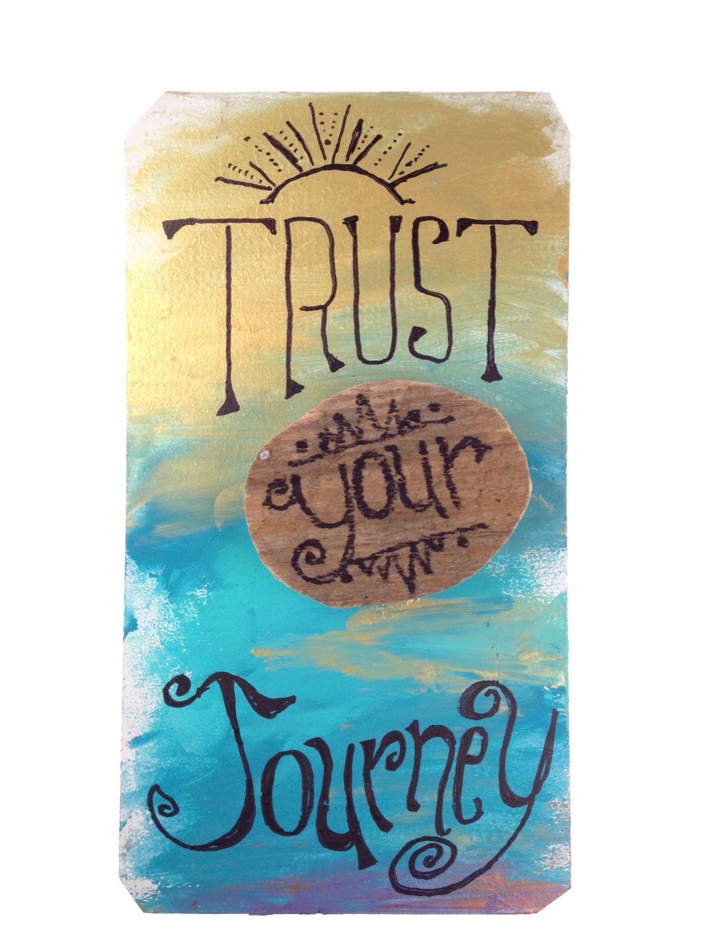 Trust Your Journey - Radiant Sea (piece #00006)