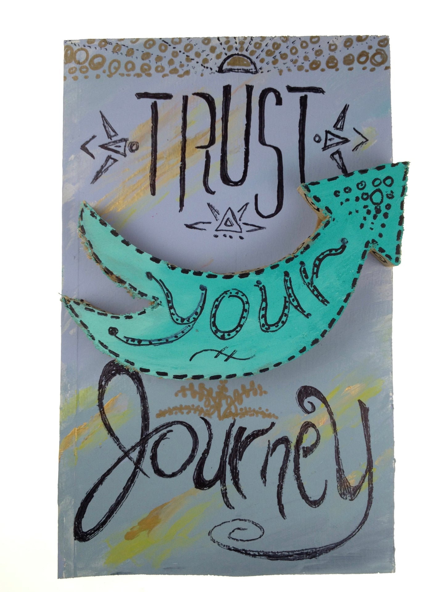 Trust Your Journey - Jumping Jasmin (piece #00018)
