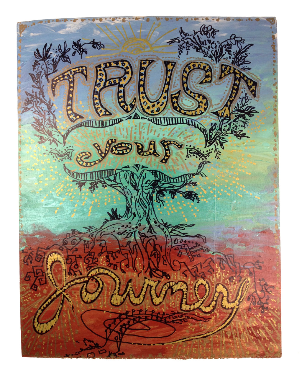 Trust Your Journey - Tree Of Life (piece #00001)