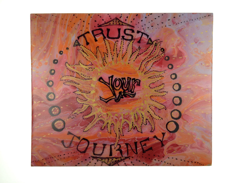 Trust Your Journey - Mighty Sun (piece #00085)