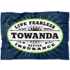 TOWANDA Live Fearless - Fleece Supersoft Blanket / Better Insurance, Fried Green Tomatoes