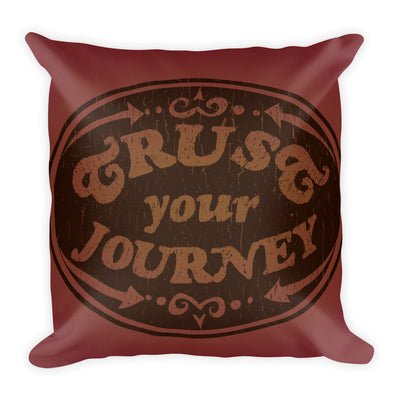 Trust Your Journey, Points - Premium Pillow (2 Sizes)