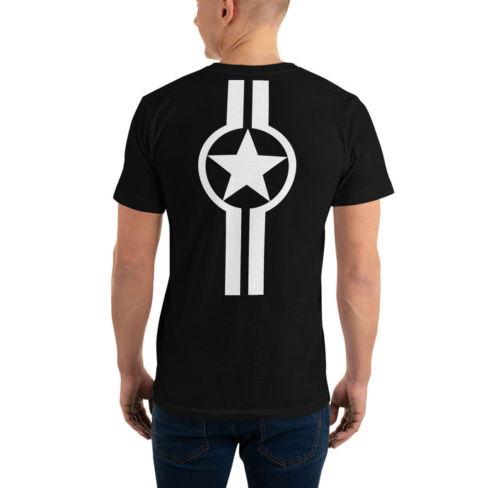 Star And Stripe, Mach 1 (back) - Short-Sleeve T-Shirt
