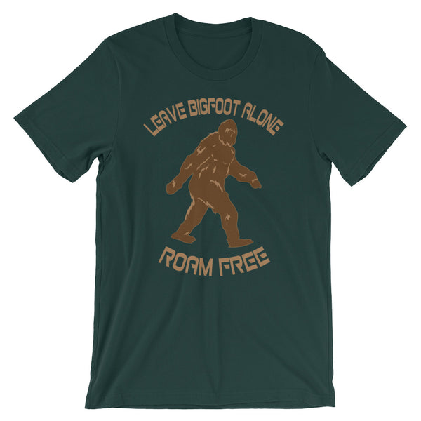 Leave Bigfoot Alone - T-Shirt