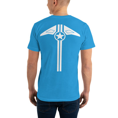 Star And Stripe, Mach 2 (back) - T-Shirt