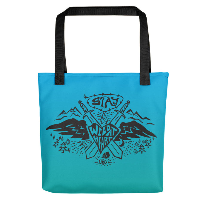 Stay Wild At Heart - Tote Bag