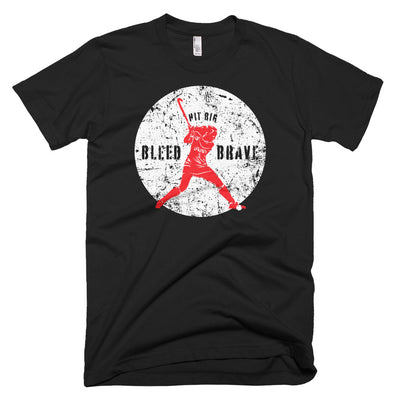 Field Hockey, Bleed Brave - T-Shirt