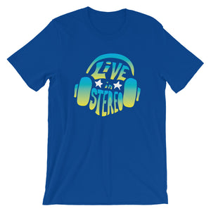 Live In Stereo - Short-Sleeve T-Shirt
