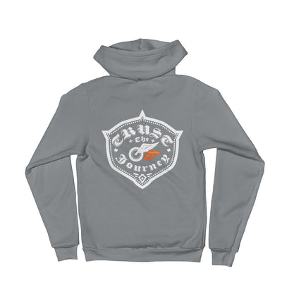 Trust The Journey, Hot Asphalt - Zip Hoodie