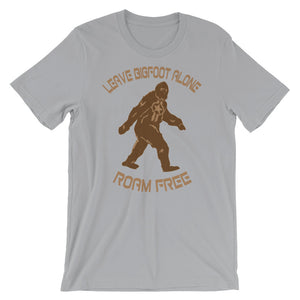 Bigfoot, Roam Free - Short-Sleeve T-Shirt