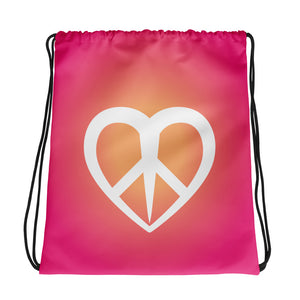 Peace Love Glow - Backpack Bag
