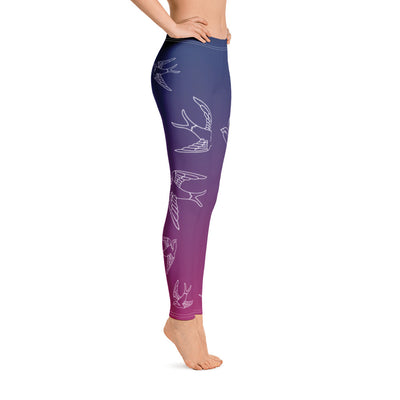 Evening Swallows - Leggings