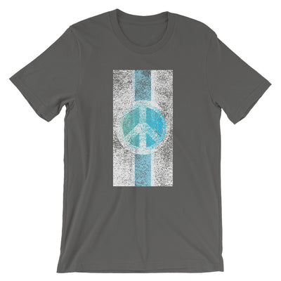 Peace Flag, Ocean - T-Shirt