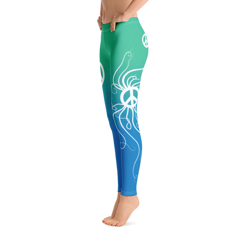 Peace Sea Life - Leggings