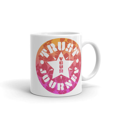 Trust Your Journey, Star Flower - Mug