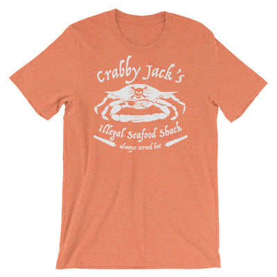 Crabby Jack's Illegal Seafood Shack - T-Shirt