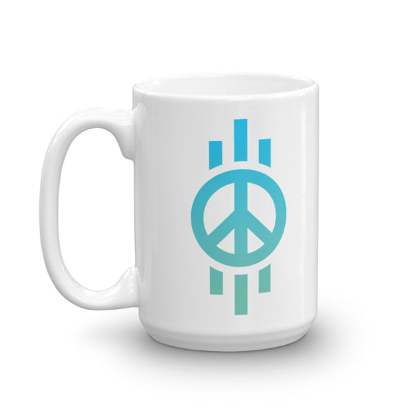 Peace, Tridents - Mug
