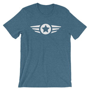 Star And Stripe, Indivisible - Short-Sleeve T-Shirt