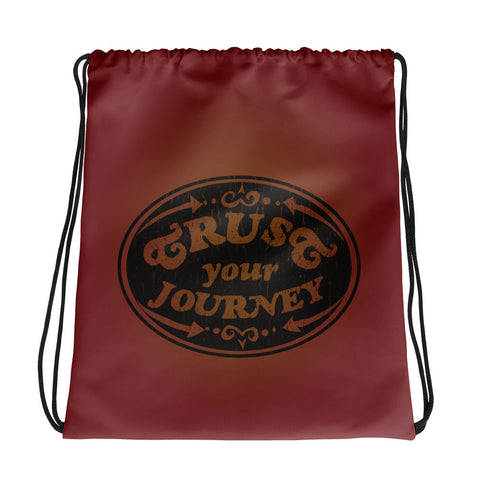 Trust Your Journey, Points - Backpack Bag