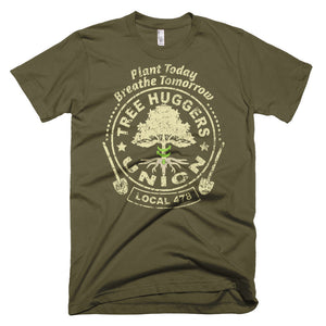 Tree Huggers Union - Short-Sleeve T-Shirt
