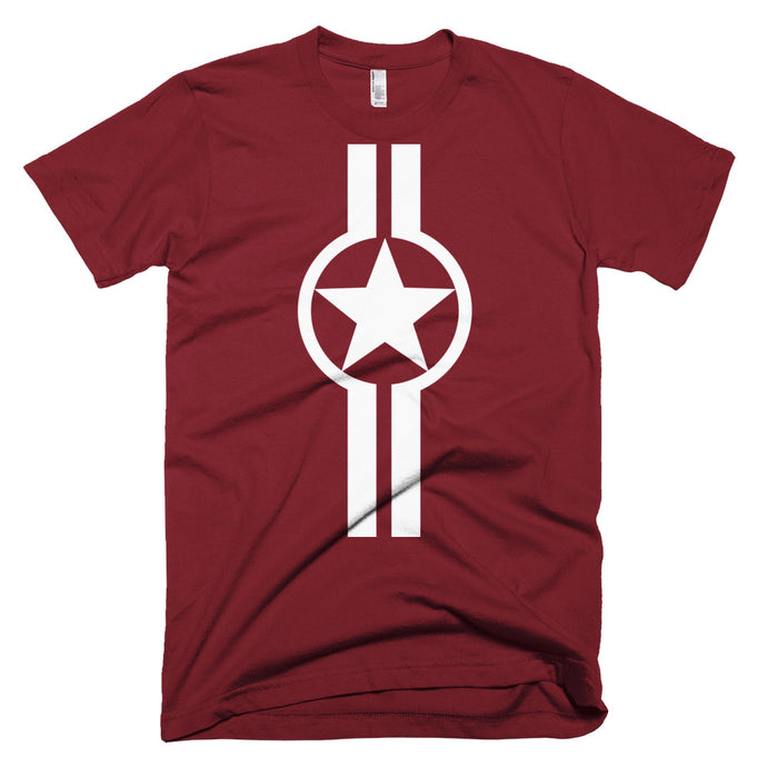 Star And Stripe, Mach 1 (front) - Short-Sleeve T-Shirt