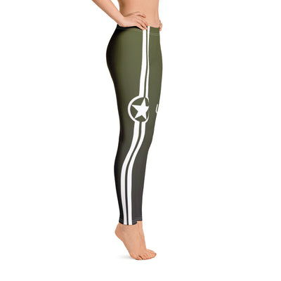 Star And Stripe, Mach 1, Tank - Leggings