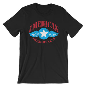 American Awesomeness, Fly Free - Short-Sleeve Unisex T-Shirt