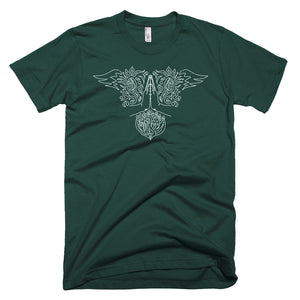 Lotus Hands - Short-Sleeve T-Shirt