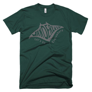 Manta Ray Wanderlust Short-Sleeve T-Shirt
