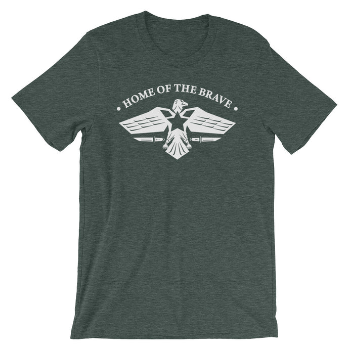 Home Of The Brave - Short-Sleeve T-Shirt