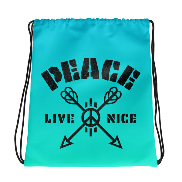 Peace Live Nice - Backpack Bag (4 Colors)