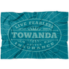 Live Fearless TOWANDA - Fleece Blanket