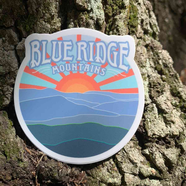 Blueridge Mountains Stickers & Magnets / Appalachian Trail, East Coast Cool