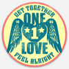 One Love - Sticker