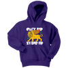 Get Up Stand Up - Kids Hoodie / Bob Marley Gift, Reggae Music Song Lyrics, Good Vibes, Vintage Retro 1970s, Rights, Jamaica