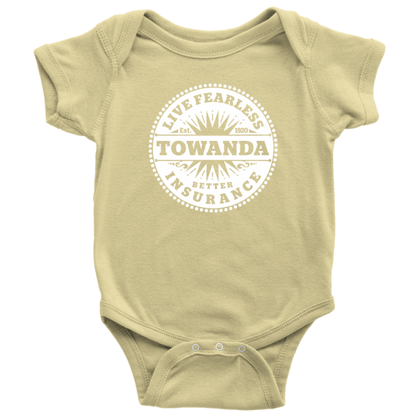 Fearless TOWANDA Onesie, Baby Bodysuit / Fried Green Tomatoes Gift, Movie, Whistle Stop Cafe, Girl Power, Friends Gift