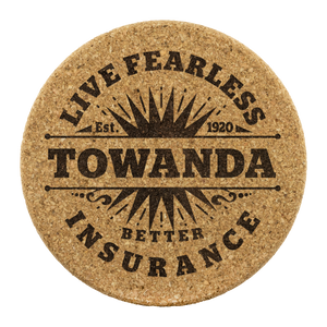 Live Fearless TOWANDA - Coasters