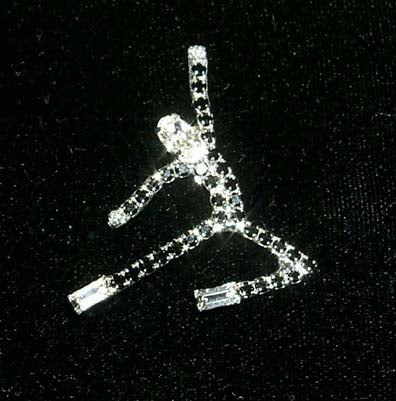Dancer Jumping Pin #11088